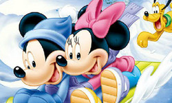 Dibujos de Mickey y Minnie