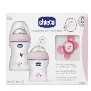 Kit regalo de biberones Chicco NaturalFeeling