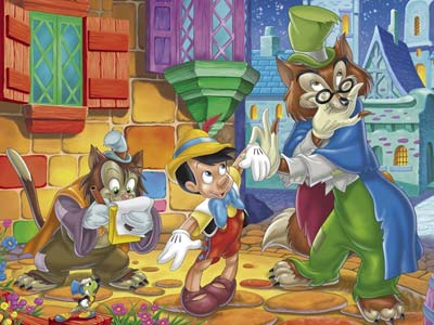 Wallpapers Disney: Pinocho